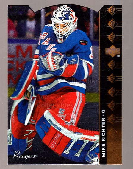 1994-95 Upper Deck SP Inserts Die Cuts #52 Mike Richter<br/>4 In Stock - $2.00 each - <a href=https://centericecollectibles.foxycart.com/cart?name=1994-95%20Upper%20Deck%20SP%20Inserts%20Die%20Cuts%20%2352%20Mike%20Richter...&quantity_max=4&price=$2.00&code=35677 class=foxycart> Buy it now! </a>