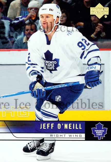 2006-07 Upper Deck HG Glossy #432 Jeff O'Neill<br/>1 In Stock - $10.00 each - <a href=https://centericecollectibles.foxycart.com/cart?name=2006-07%20Upper%20Deck%20HG%20Glossy%20%23432%20Jeff%20O'Neill...&quantity_max=1&price=$10.00&code=356844 class=foxycart> Buy it now! </a>