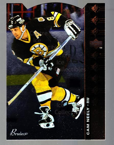 1994-95 Upper Deck SP Inserts Die Cuts #6 Cam Neely<br/>2 In Stock - $2.00 each - <a href=https://centericecollectibles.foxycart.com/cart?name=1994-95%20Upper%20Deck%20SP%20Inserts%20Die%20Cuts%20%236%20Cam%20Neely...&quantity_max=2&price=$2.00&code=35685 class=foxycart> Buy it now! </a>