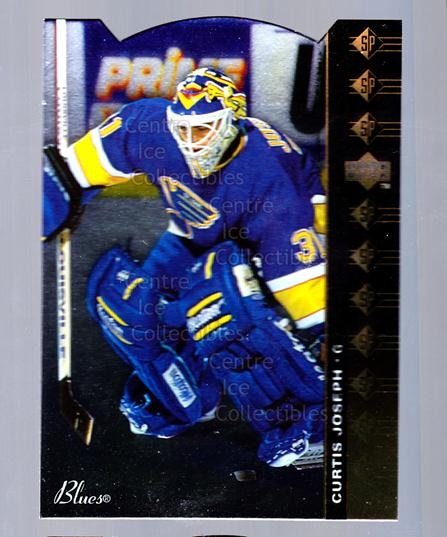 1994-95 Upper Deck SP Inserts Die Cuts #68 Curtis Joseph<br/>3 In Stock - $2.00 each - <a href=https://centericecollectibles.foxycart.com/cart?name=1994-95%20Upper%20Deck%20SP%20Inserts%20Die%20Cuts%20%2368%20Curtis%20Joseph...&quantity_max=3&price=$2.00&code=35690 class=foxycart> Buy it now! </a>