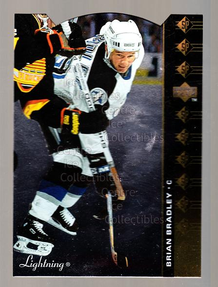 1994-95 Upper Deck SP Inserts Die Cuts #74 Brian Bradley<br/>8 In Stock - $2.00 each - <a href=https://centericecollectibles.foxycart.com/cart?name=1994-95%20Upper%20Deck%20SP%20Inserts%20Die%20Cuts%20%2374%20Brian%20Bradley...&quantity_max=8&price=$2.00&code=35697 class=foxycart> Buy it now! </a>