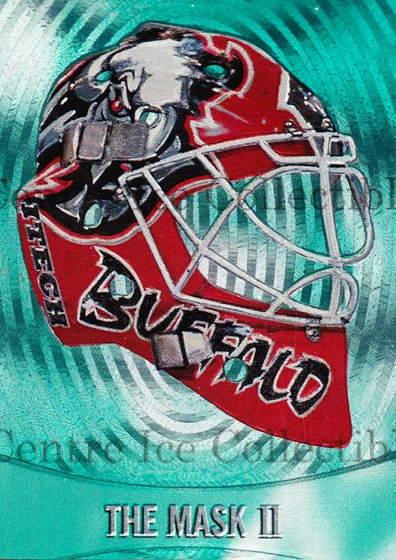 2002-03 Between the Pipes The Mask II #4 Martin Biron<br/>4 In Stock - $5.00 each - <a href=https://centericecollectibles.foxycart.com/cart?name=2002-03%20Between%20the%20Pipes%20The%20Mask%20II%20%234%20Martin%20Biron...&quantity_max=4&price=$5.00&code=357031 class=foxycart> Buy it now! </a>