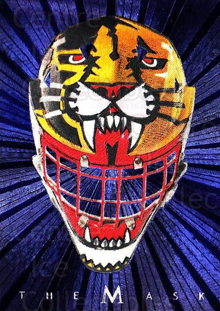 2001-02 Between the Pipes The Mask #6 John Vanbiesbrouck<br/>2 In Stock - $5.00 each - <a href=https://centericecollectibles.foxycart.com/cart?name=2001-02%20Between%20the%20Pipes%20The%20Mask%20%236%20John%20Vanbiesbro...&quantity_max=2&price=$5.00&code=357078 class=foxycart> Buy it now! </a>