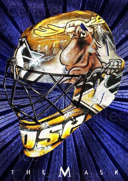 2001-02 Between the Pipes The Mask #26 Johan Hedberg<br/>5 In Stock - $5.00 each - <a href=https://centericecollectibles.foxycart.com/cart?name=2001-02%20Between%20the%20Pipes%20The%20Mask%20%2326%20Johan%20Hedberg...&quantity_max=5&price=$5.00&code=357094 class=foxycart> Buy it now! </a>