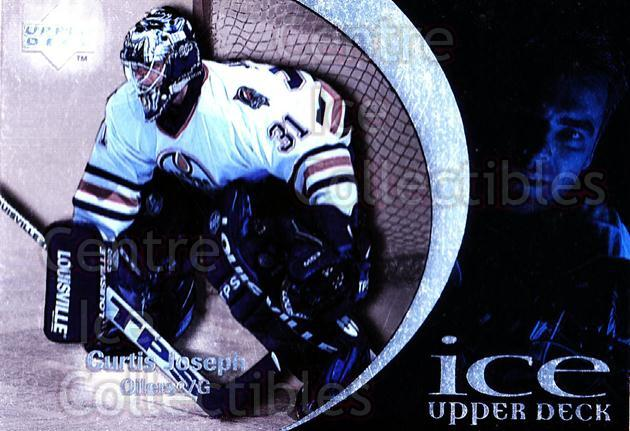 1997-98 UD Ice #81 Curtis Joseph<br/>3 In Stock - $1.00 each - <a href=https://centericecollectibles.foxycart.com/cart?name=1997-98%20UD%20Ice%20%2381%20Curtis%20Joseph...&quantity_max=3&price=$1.00&code=357113 class=foxycart> Buy it now! </a>