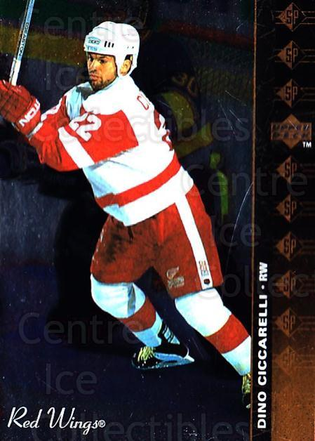 1994-95 Upper Deck SP Inserts #112 Dino Ciccarelli<br/>4 In Stock - $1.00 each - <a href=https://centericecollectibles.foxycart.com/cart?name=1994-95%20Upper%20Deck%20SP%20Inserts%20%23112%20Dino%20Ciccarelli...&quantity_max=4&price=$1.00&code=35717 class=foxycart> Buy it now! </a>