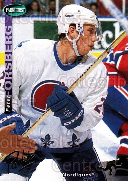 1994-95 Parkhurst SE Gold #149 Peter Forsberg<br/>2 In Stock - $5.00 each - <a href=https://centericecollectibles.foxycart.com/cart?name=1994-95%20Parkhurst%20SE%20Gold%20%23149%20Peter%20Forsberg...&quantity_max=2&price=$5.00&code=357487 class=foxycart> Buy it now! </a>