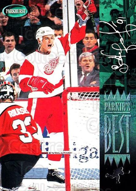 1994-95 Parkhurst #305 Sergei Fedorov<br/>1 In Stock - $1.00 each - <a href=https://centericecollectibles.foxycart.com/cart?name=1994-95%20Parkhurst%20%23305%20Sergei%20Fedorov...&quantity_max=1&price=$1.00&code=357504 class=foxycart> Buy it now! </a>