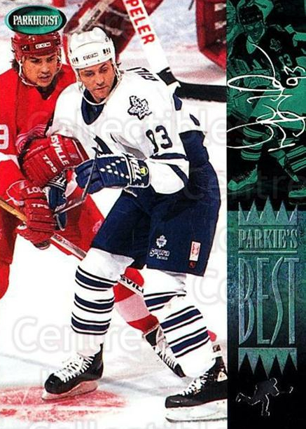 1994-95 Parkhurst #313 Doug Gilmour<br/>1 In Stock - $1.00 each - <a href=https://centericecollectibles.foxycart.com/cart?name=1994-95%20Parkhurst%20%23313%20Doug%20Gilmour...&quantity_max=1&price=$1.00&code=357506 class=foxycart> Buy it now! </a>