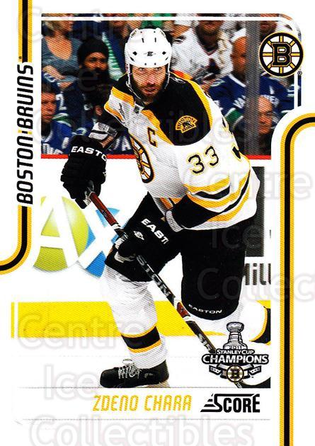 2011-12 Score #61 Zdeno Chara<br/>4 In Stock - $1.00 each - <a href=https://centericecollectibles.foxycart.com/cart?name=2011-12%20Score%20%2361%20Zdeno%20Chara...&quantity_max=4&price=$1.00&code=357591 class=foxycart> Buy it now! </a>