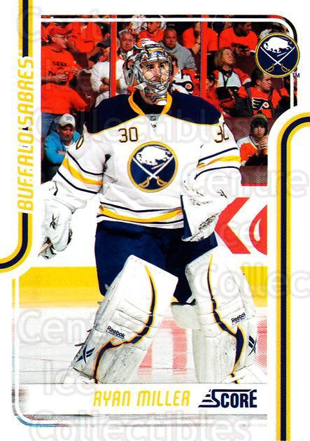 2011-12 Score #79 Ryan Miller<br/>6 In Stock - $1.00 each - <a href=https://centericecollectibles.foxycart.com/cart?name=2011-12%20Score%20%2379%20Ryan%20Miller...&quantity_max=6&price=$1.00&code=357609 class=foxycart> Buy it now! </a>