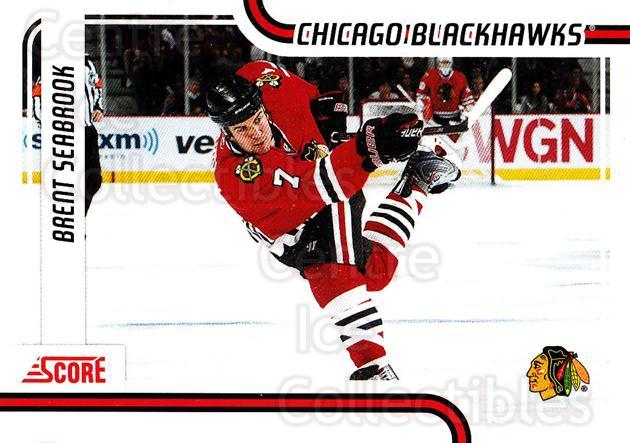 2011-12 Score #123 Brent Seabrook<br/>7 In Stock - $1.00 each - <a href=https://centericecollectibles.foxycart.com/cart?name=2011-12%20Score%20%23123%20Brent%20Seabrook...&quantity_max=7&price=$1.00&code=357653 class=foxycart> Buy it now! </a>