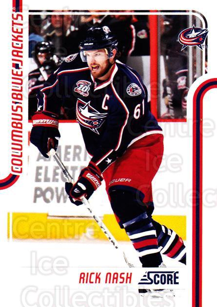 2011-12 Score #146 Rick Nash<br/>5 In Stock - $1.00 each - <a href=https://centericecollectibles.foxycart.com/cart?name=2011-12%20Score%20%23146%20Rick%20Nash...&quantity_max=5&price=$1.00&code=357676 class=foxycart> Buy it now! </a>