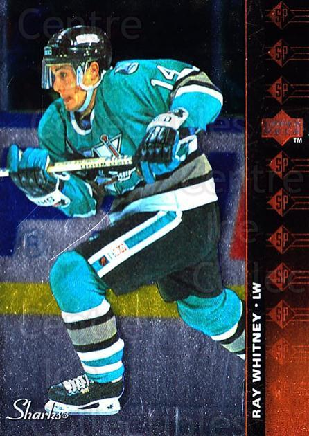 1994-95 Upper Deck SP Inserts #163 Ray Whitney<br/>5 In Stock - $1.00 each - <a href=https://centericecollectibles.foxycart.com/cart?name=1994-95%20Upper%20Deck%20SP%20Inserts%20%23163%20Ray%20Whitney...&quantity_max=5&price=$1.00&code=35773 class=foxycart> Buy it now! </a>