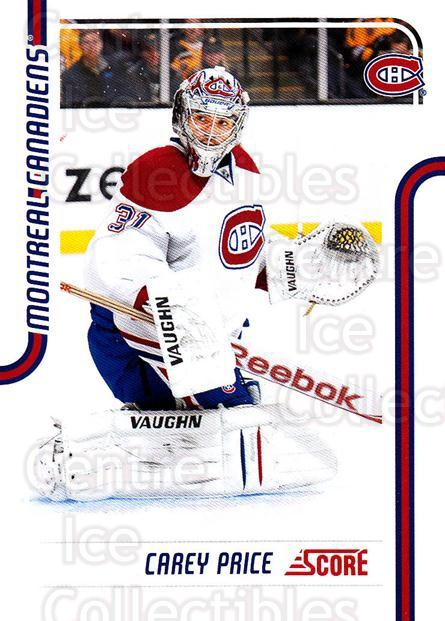 2011-12 Score #259 Carey Price<br/>4 In Stock - $1.00 each - <a href=https://centericecollectibles.foxycart.com/cart?name=2011-12%20Score%20%23259%20Carey%20Price...&price=$1.00&code=357789 class=foxycart> Buy it now! </a>