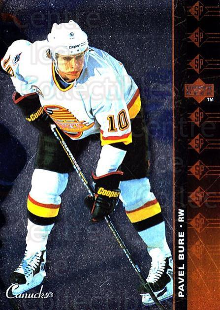 1994-95 Upper Deck SP Inserts #171 Pavel Bure<br/>3 In Stock - $1.00 each - <a href=https://centericecollectibles.foxycart.com/cart?name=1994-95%20Upper%20Deck%20SP%20Inserts%20%23171%20Pavel%20Bure...&quantity_max=3&price=$1.00&code=35780 class=foxycart> Buy it now! </a>