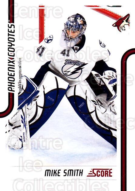 2011-12 Score #364 Mike Smith<br/>7 In Stock - $1.00 each - <a href=https://centericecollectibles.foxycart.com/cart?name=2011-12%20Score%20%23364%20Mike%20Smith...&quantity_max=7&price=$1.00&code=357894 class=foxycart> Buy it now! </a>