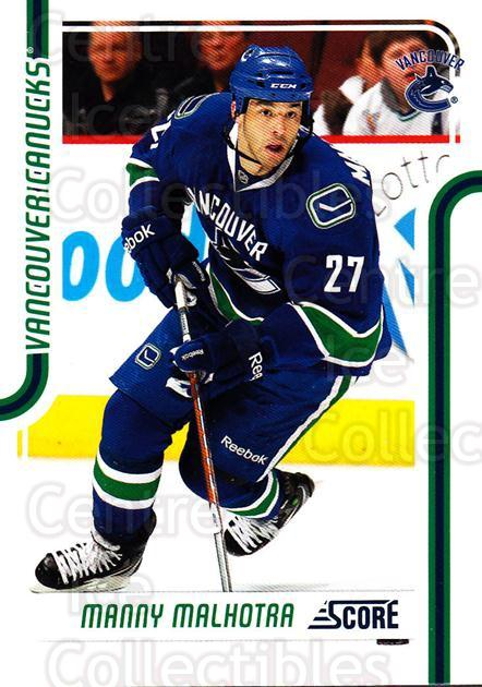 2011-12 Score #446 Manny Malhotra<br/>8 In Stock - $1.00 each - <a href=https://centericecollectibles.foxycart.com/cart?name=2011-12%20Score%20%23446%20Manny%20Malhotra...&quantity_max=8&price=$1.00&code=357976 class=foxycart> Buy it now! </a>