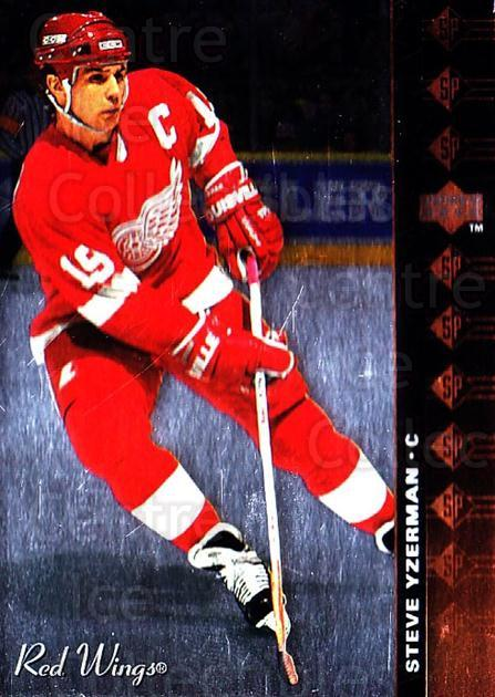 1994-95 Upper Deck SP Inserts #25 Steve Yzerman<br/>1 In Stock - $2.00 each - <a href=https://centericecollectibles.foxycart.com/cart?name=1994-95%20Upper%20Deck%20SP%20Inserts%20%2325%20Steve%20Yzerman...&price=$2.00&code=35798 class=foxycart> Buy it now! </a>