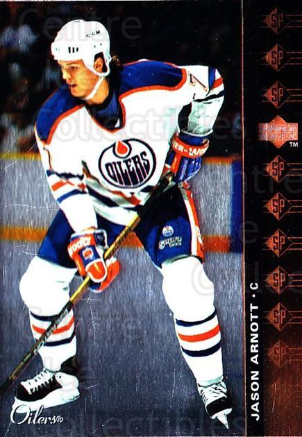 1994-95 Upper Deck SP Inserts #26 Jason Arnott<br/>6 In Stock - $1.00 each - <a href=https://centericecollectibles.foxycart.com/cart?name=1994-95%20Upper%20Deck%20SP%20Inserts%20%2326%20Jason%20Arnott...&quantity_max=6&price=$1.00&code=35799 class=foxycart> Buy it now! </a>