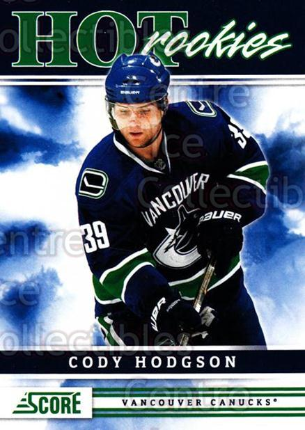 2011-12 Score #533 Cody Hodgson<br/>8 In Stock - $5.00 each - <a href=https://centericecollectibles.foxycart.com/cart?name=2011-12%20Score%20%23533%20Cody%20Hodgson...&quantity_max=8&price=$5.00&code=358063 class=foxycart> Buy it now! </a>