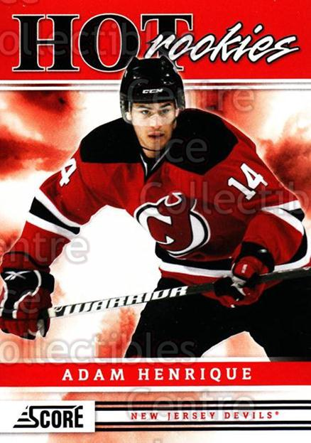 2011-12 Score #543 Adam Henrique<br/>10 In Stock - $2.00 each - <a href=https://centericecollectibles.foxycart.com/cart?name=2011-12%20Score%20%23543%20Adam%20Henrique...&quantity_max=10&price=$2.00&code=358073 class=foxycart> Buy it now! </a>
