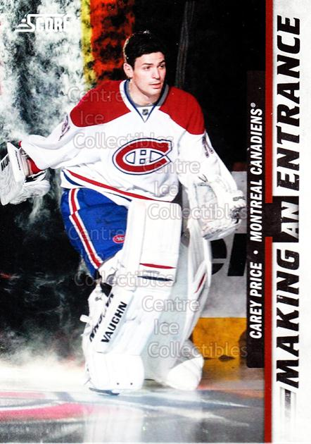 2011-12 Score Making An Entrance #9 Carey Price<br/>1 In Stock - $5.00 each - <a href=https://centericecollectibles.foxycart.com/cart?name=2011-12%20Score%20Making%20An%20Entrance%20%239%20Carey%20Price...&price=$5.00&code=358114 class=foxycart> Buy it now! </a>
