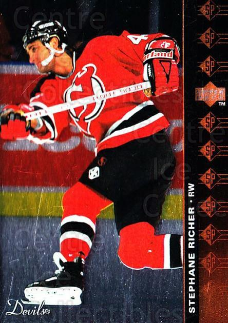 1994-95 Upper Deck SP Inserts #44 Stephane Richer<br/>5 In Stock - $1.00 each - <a href=https://centericecollectibles.foxycart.com/cart?name=1994-95%20Upper%20Deck%20SP%20Inserts%20%2344%20Stephane%20Richer...&quantity_max=5&price=$1.00&code=35816 class=foxycart> Buy it now! </a>