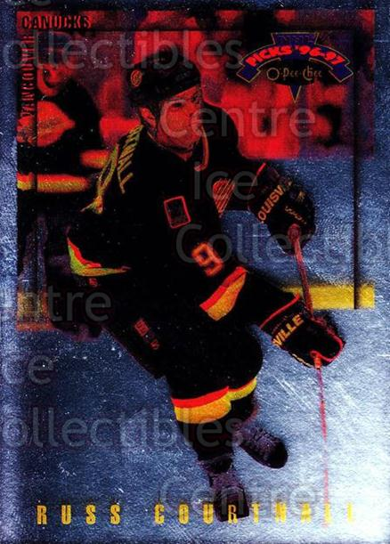 1996-97 Topps Picks O-pee-chee Parallel #107 Russ Courtnall<br/>1 In Stock - $3.00 each - <a href=https://centericecollectibles.foxycart.com/cart?name=1996-97%20Topps%20Picks%20O-pee-chee%20Parallel%20%23107%20Russ%20Courtnall...&quantity_max=1&price=$3.00&code=358244 class=foxycart> Buy it now! </a>