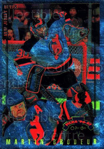 <a href=index.aspx?SetName=1996-97%20Topps%20Picks%20O-pee-chee%20Parallel>1996-97 Topps Picks O-pee-chee Parallel</a> #27 <a href=index.aspx?PlayerName=Martin%20Brodeur> Martin Brodeur</a><br/>1 in stock - $10.00 each - <a href=https://centericecollectibles.foxycart.com/cart?name=1996-97%20Topps%20Picks%20O-pee-chee%20Parallel%20%2327%20Martin%20Brodeur...&price=$10.00&code=358287 class=foxycart> Buy it now! </a>
