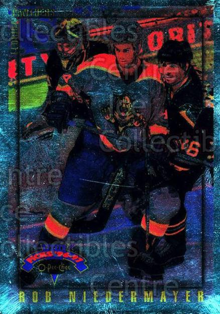 1996-97 Topps Picks O-pee-chee Parallel #99 Rob Niedermayer<br/>7 In Stock - $3.00 each - <a href=https://centericecollectibles.foxycart.com/cart?name=1996-97%20Topps%20Picks%20O-pee-chee%20Parallel%20%2399%20Rob%20Niedermayer...&quantity_max=7&price=$3.00&code=358326 class=foxycart> Buy it now! </a>