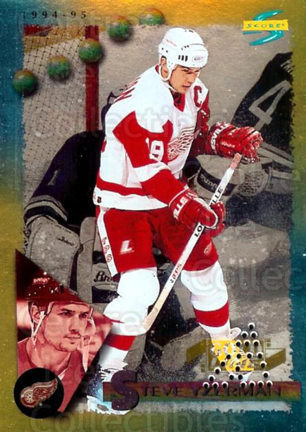 1994-95 Score Gold Punched Winners #150 Steve Yzerman<br/>6 In Stock - $5.00 each - <a href=https://centericecollectibles.foxycart.com/cart?name=1994-95%20Score%20Gold%20Punched%20Winners%20%23150%20Steve%20Yzerman...&price=$5.00&code=358969 class=foxycart> Buy it now! </a>