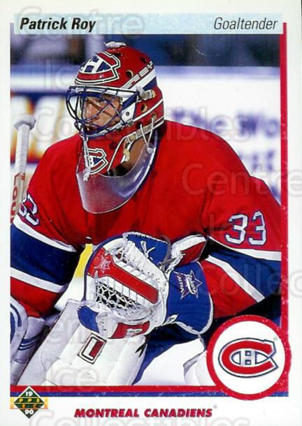 1990-91 Upper Deck Promos #241 Patrick Roy<br/>13 In Stock - $10.00 each - <a href=https://centericecollectibles.foxycart.com/cart?name=1990-91%20Upper%20Deck%20Promos%20%23241%20Patrick%20Roy...&price=$10.00&code=359089 class=foxycart> Buy it now! </a>