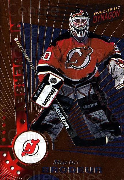 1997-98 Dynagon #68 Martin Brodeur<br/>3 In Stock - $3.00 each - <a href=https://centericecollectibles.foxycart.com/cart?name=1997-98%20Dynagon%20%2368%20Martin%20Brodeur...&quantity_max=3&price=$3.00&code=359212 class=foxycart> Buy it now! </a>