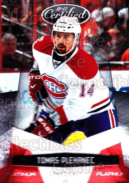 2010-11 Certified Platinum Red #76 Tomas Plekanec<br/>1 In Stock - $2.00 each - <a href=https://centericecollectibles.foxycart.com/cart?name=2010-11%20Certified%20Platinum%20Red%20%2376%20Tomas%20Plekanec...&quantity_max=1&price=$2.00&code=360493 class=foxycart> Buy it now! </a>