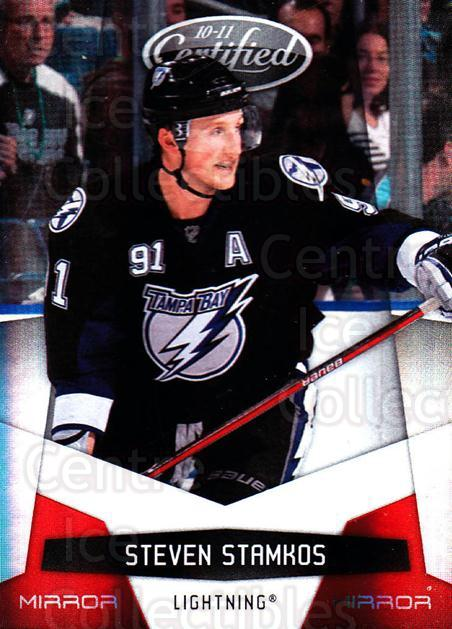 2010-11 Certified Mirror Red #130 Steven Stamkos<br/>1 In Stock - $5.00 each - <a href=https://centericecollectibles.foxycart.com/cart?name=2010-11%20Certified%20Mirror%20Red%20%23130%20Steven%20Stamkos...&price=$5.00&code=360867 class=foxycart> Buy it now! </a>