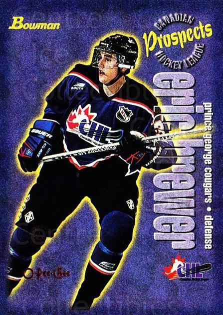 1997 Bowman CHL OPC Parallel #153 Eric Brewer<br/>1 In Stock - $3.00 each - <a href=https://centericecollectibles.foxycart.com/cart?name=1997%20Bowman%20CHL%20OPC%20Parallel%20%23153%20Eric%20Brewer...&quantity_max=1&price=$3.00&code=361339 class=foxycart> Buy it now! </a>