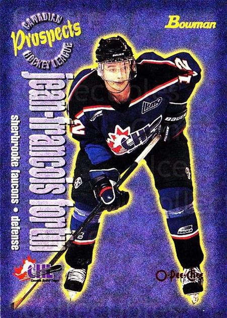 1997 Bowman CHL OPC Parallel #157 JF Fortin<br/>1 In Stock - $3.00 each - <a href=https://centericecollectibles.foxycart.com/cart?name=1997%20Bowman%20CHL%20OPC%20Parallel%20%23157%20JF%20Fortin...&quantity_max=1&price=$3.00&code=361343 class=foxycart> Buy it now! </a>