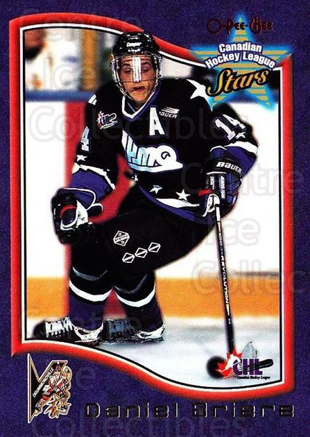 1997 Bowman CHL OPC Parallel #50 Daniel Briere<br/>1 In Stock - $3.00 each - <a href=https://centericecollectibles.foxycart.com/cart?name=1997%20Bowman%20CHL%20OPC%20Parallel%20%2350%20Daniel%20Briere...&quantity_max=1&price=$3.00&code=361382 class=foxycart> Buy it now! </a>