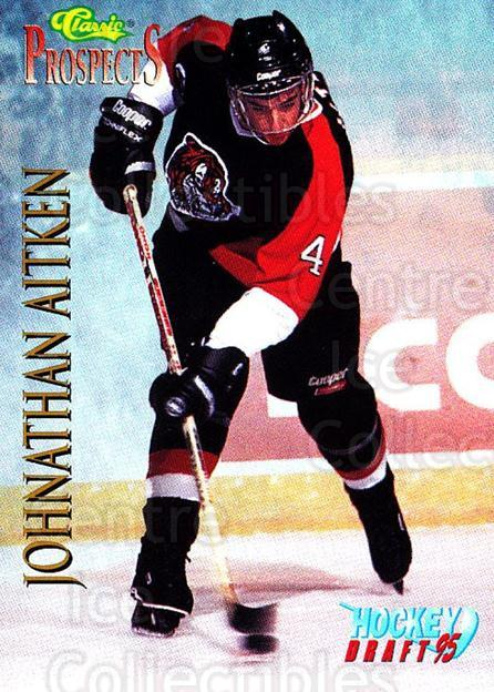 1995 Classic Hockey Draft #56 Johnathan Aitken<br/>10 In Stock - $1.00 each - <a href=https://centericecollectibles.foxycart.com/cart?name=1995%20Classic%20Hockey%20Draft%20%2356%20Johnathan%20Aitke...&quantity_max=10&price=$1.00&code=36183 class=foxycart> Buy it now! </a>