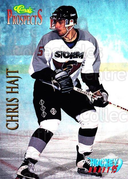 1995 Classic Hockey Draft #61 Chris Hajt<br/>11 In Stock - $1.00 each - <a href=https://centericecollectibles.foxycart.com/cart?name=1995%20Classic%20Hockey%20Draft%20%2361%20Chris%20Hajt...&quantity_max=11&price=$1.00&code=36189 class=foxycart> Buy it now! </a>