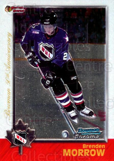 1998 Bowman CHL Chrome Golden Anniversary #60 Brenden Morrow<br/>1 In Stock - $5.00 each - <a href=https://centericecollectibles.foxycart.com/cart?name=1998%20Bowman%20CHL%20Chrome%20Golden%20Anniversary%20%2360%20Brenden%20Morrow...&quantity_max=1&price=$5.00&code=362037 class=foxycart> Buy it now! </a>