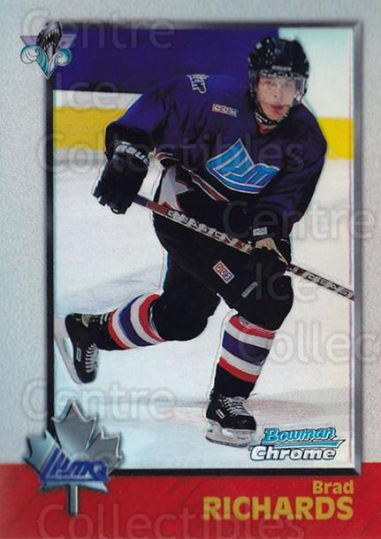 1998 Bowman CHL Chrome Refractors #116 Brad Richards<br/>1 In Stock - $5.00 each - <a href=https://centericecollectibles.foxycart.com/cart?name=1998%20Bowman%20CHL%20Chrome%20Refractors%20%23116%20Brad%20Richards...&quantity_max=1&price=$5.00&code=362220 class=foxycart> Buy it now! </a>