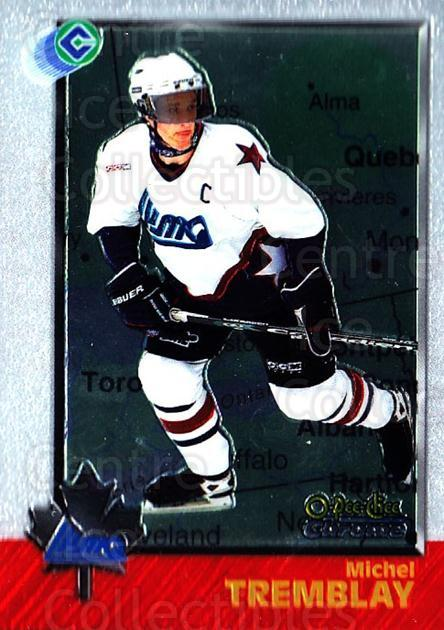 1998 Bowman CHL Chrome OPC International #93 Michel Tremblay<br/>2 In Stock - $3.00 each - <a href=https://centericecollectibles.foxycart.com/cart?name=1998%20Bowman%20CHL%20Chrome%20OPC%20International%20%2393%20Michel%20Tremblay...&quantity_max=2&price=$3.00&code=362252 class=foxycart> Buy it now! </a>