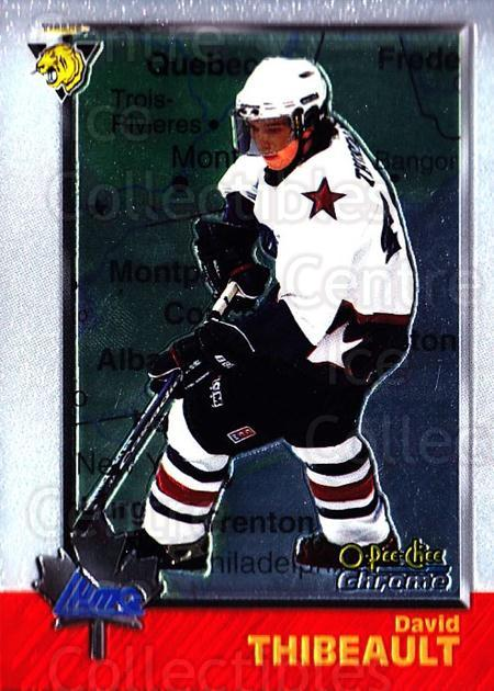 1998 Bowman CHL Chrome OPC International #96 David Thibeault<br/>1 In Stock - $3.00 each - <a href=https://centericecollectibles.foxycart.com/cart?name=1998%20Bowman%20CHL%20Chrome%20OPC%20International%20%2396%20David%20Thibeault...&quantity_max=1&price=$3.00&code=362255 class=foxycart> Buy it now! </a>