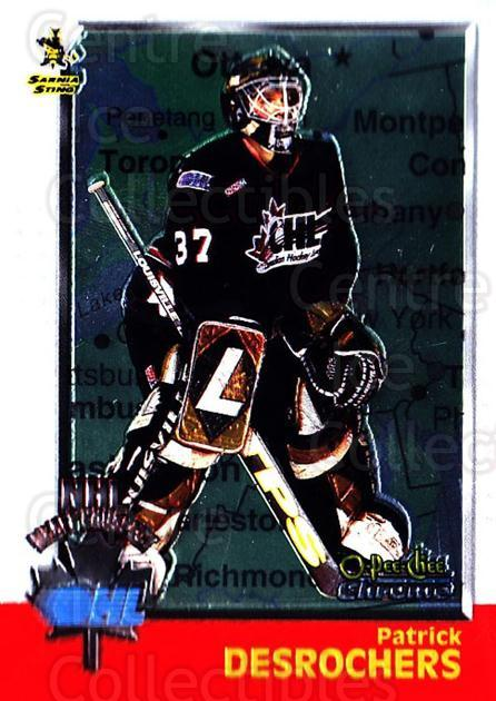 1998 Bowman CHL Chrome OPC International #139 Patrick DesRochers<br/>1 In Stock - $3.00 each - <a href=https://centericecollectibles.foxycart.com/cart?name=1998%20Bowman%20CHL%20Chrome%20OPC%20International%20%23139%20Patrick%20DesRoch...&quantity_max=1&price=$3.00&code=362259 class=foxycart> Buy it now! </a>