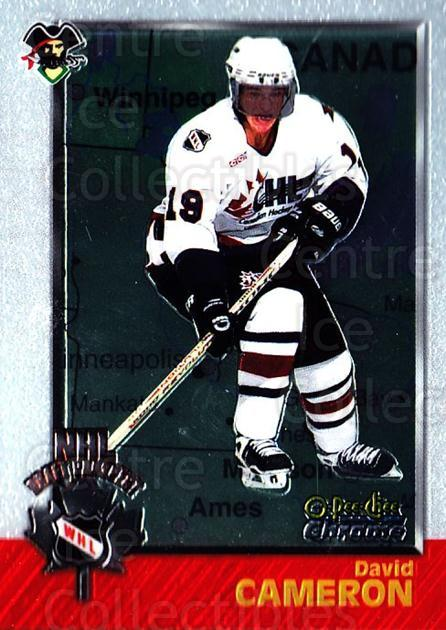 1998 Bowman CHL Chrome OPC International #141 David Cameron<br/>1 In Stock - $3.00 each - <a href=https://centericecollectibles.foxycart.com/cart?name=1998%20Bowman%20CHL%20Chrome%20OPC%20International%20%23141%20David%20Cameron...&quantity_max=1&price=$3.00&code=362262 class=foxycart> Buy it now! </a>