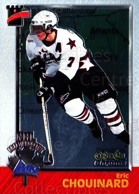 1998 Bowman CHL Chrome OPC International #143 Eric Chouinard<br/>1 In Stock - $3.00 each - <a href=https://centericecollectibles.foxycart.com/cart?name=1998%20Bowman%20CHL%20Chrome%20OPC%20International%20%23143%20Eric%20Chouinard...&quantity_max=1&price=$3.00&code=362263 class=foxycart> Buy it now! </a>