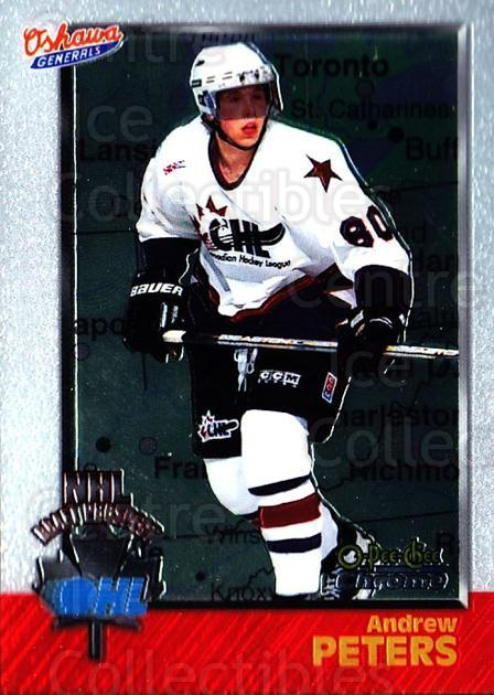 1998 Bowman CHL Chrome OPC International #150 Andrew Peters<br/>2 In Stock - $3.00 each - <a href=https://centericecollectibles.foxycart.com/cart?name=1998%20Bowman%20CHL%20Chrome%20OPC%20International%20%23150%20Andrew%20Peters...&quantity_max=2&price=$3.00&code=362271 class=foxycart> Buy it now! </a>
