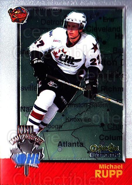 1998 Bowman CHL Chrome OPC International #151 Mike Rupp<br/>1 In Stock - $3.00 each - <a href=https://centericecollectibles.foxycart.com/cart?name=1998%20Bowman%20CHL%20Chrome%20OPC%20International%20%23151%20Mike%20Rupp...&quantity_max=1&price=$3.00&code=362272 class=foxycart> Buy it now! </a>